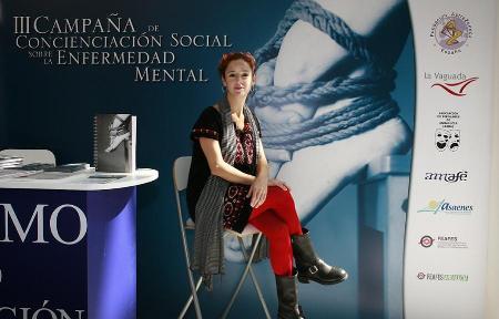 Marta Belenguer apoyó la III Campaña de Concienciación Social sobre Enfermedad Mental
