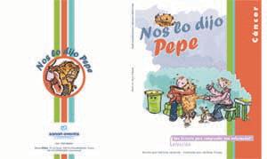 Nos lo dijo Pepe, un cuento para niños con madres con cáncer