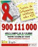 ¿Tienes alguna duda sobrel el VIH? Llama al 900 111 000