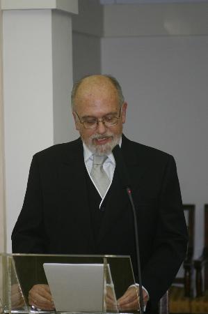 Francisco Javier Puerto Sarmiento, nuevo Académico de Número de la Real Academia Nacional de Farmacia