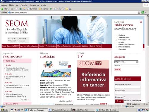 www.seom.org. Toda la información sobre el cáncer, al día.