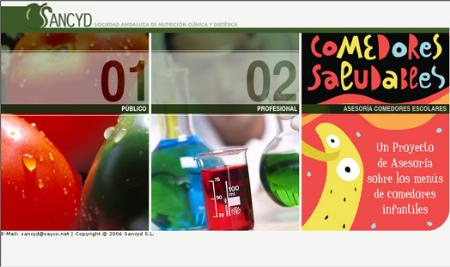 'Comedores saludables', una web para una buena alimentación