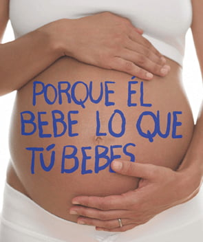 Embarazo y alcohol, incompatibles