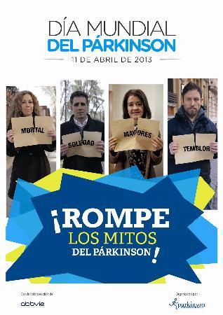 La Asociación Catalana de Parkinson sale a la calle para conmemorar el Día Mundial del Parkinson 2013