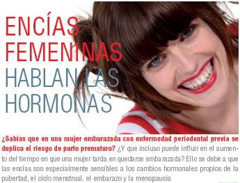 ENCÍAS FEMENINAS Hablan las hormonas