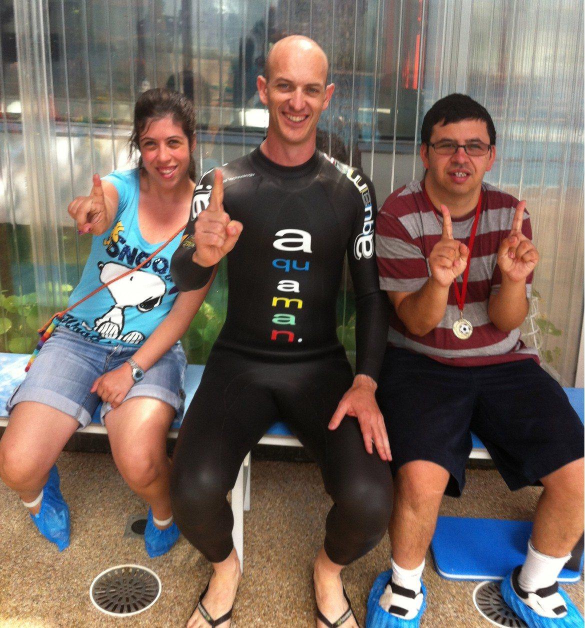 Médicos y deportistas, juntos por el Síndrome de Williams