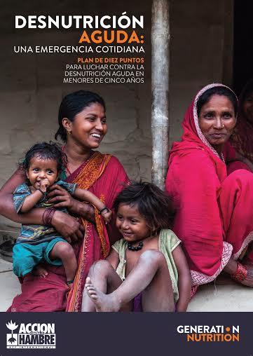 """""""El mundo puede y debe reducir la desnutrición aguda a menos del 4% antes de 2030"""""""