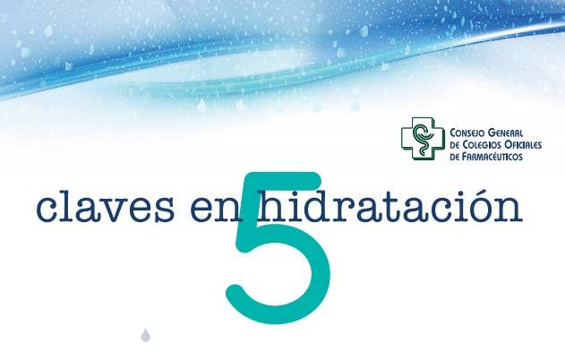 Los farmacéuticos impulsan la campaña sanitaria 'Cinco claves en hidratación'