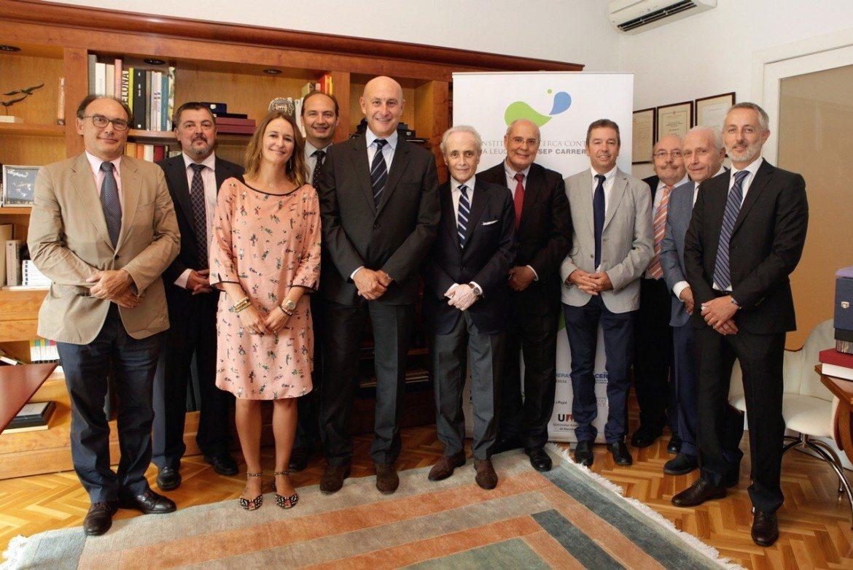 La Fundación Josep Carreras, el Instituto de investigación y Celgene, unidos para luchar contra los cánceres sanguíneos