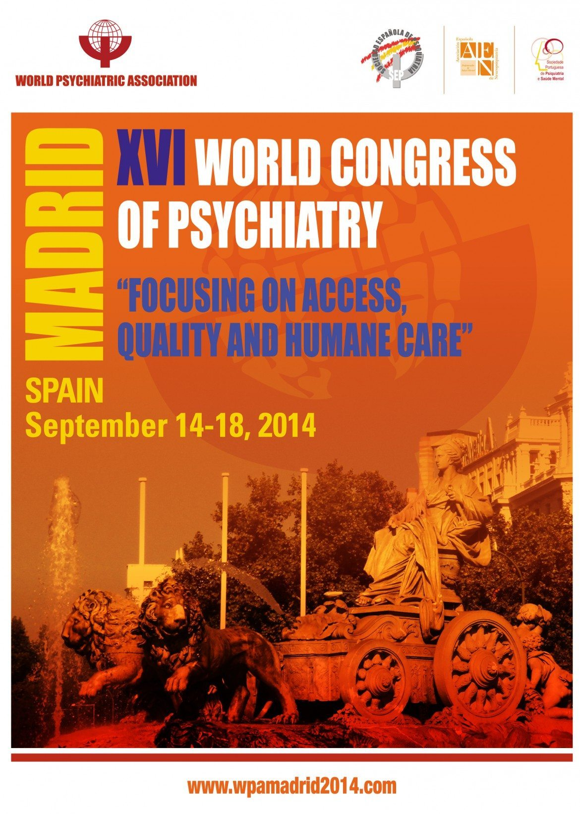 Arranca en Madrid el XVI Congreso Mundial de Psiquiatría