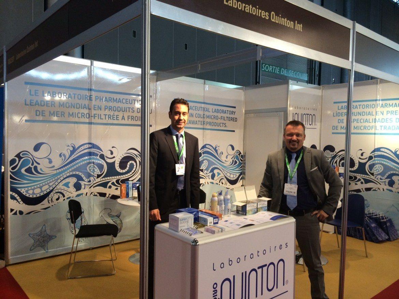 Laboratorios Quinton abren nuevos mercados en CPhi WorldWide, feria del sector farmacéutico