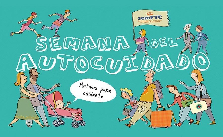 La 'Semana del Autocuidado' se celebra este año por segunda vez entre los días 27 y 31 de octubre