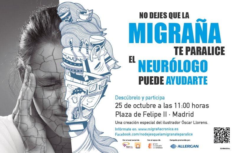 """Campaña """"No dejes que la migraña te paralice"""""""