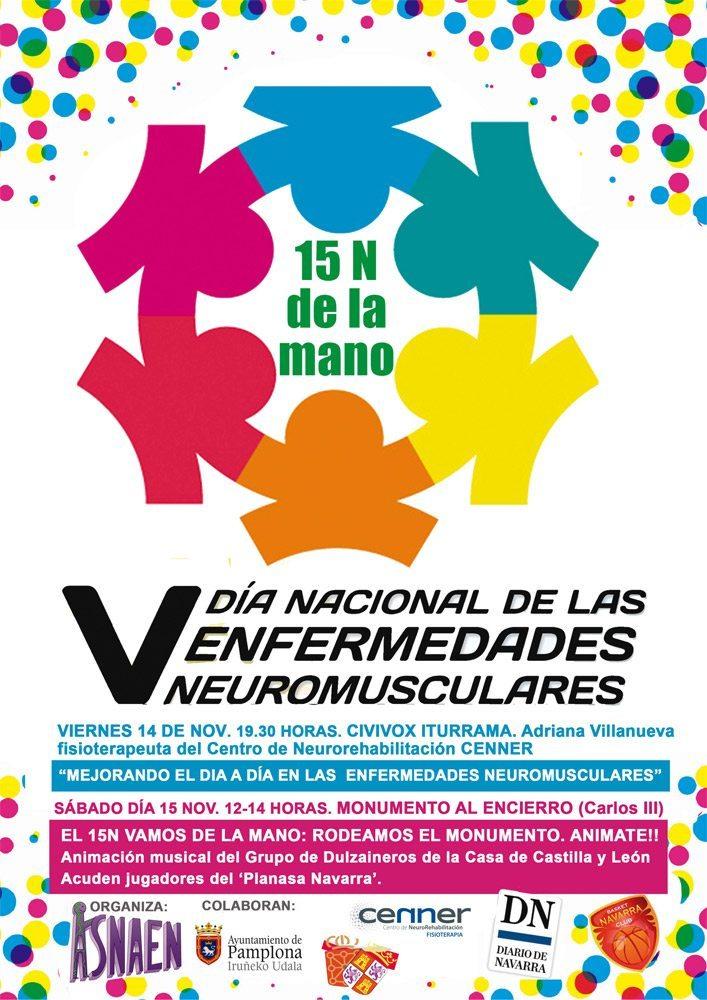 """El 15 de noviembre se celebrarán """"cadenas humanas solidarias"""" por las enfermedades neuromusculares"""