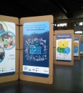Exposición Mojate con Hunter_Estación de tren Córdoba