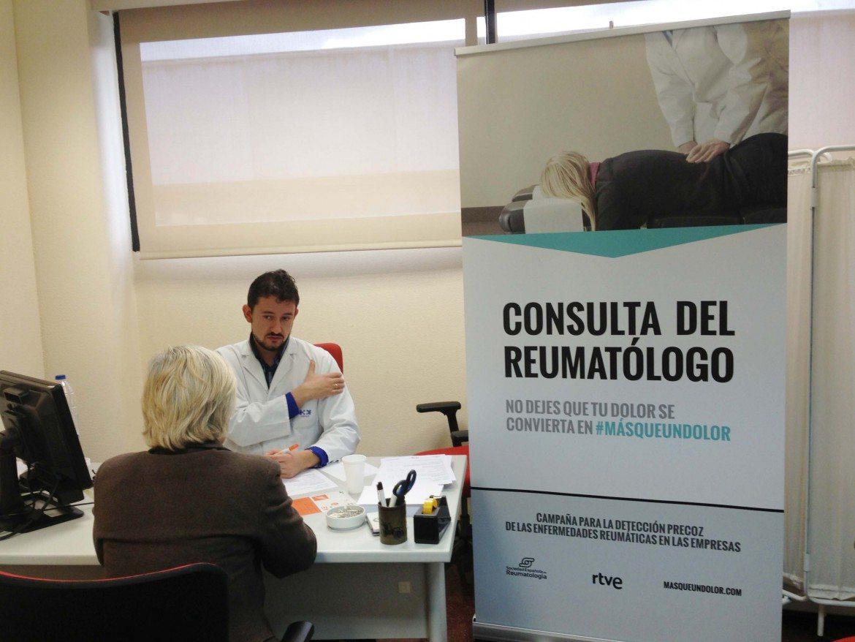 Campaña para fomentar la detección de enfermedades reumáticas en empleados de RTVE