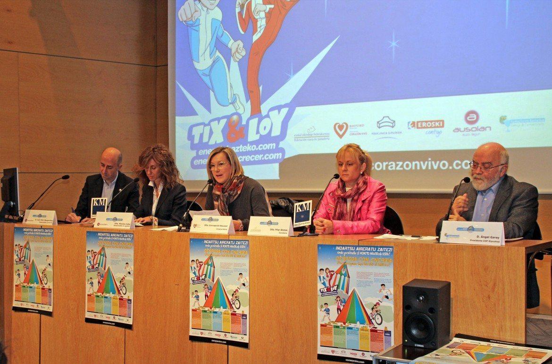 Farmacéuticos del País Vasco participan en los 'Desayunos Cardiosaludables' para escolares