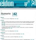 Revista EIDON 42