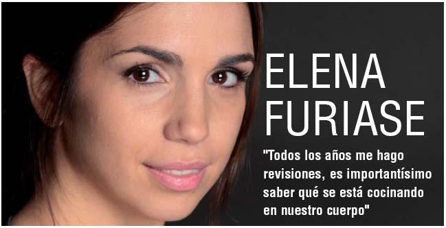 """ELENA FURIASE: """"Todos los años me hago revisiones, es importantísimo saber qué se está cocinando en nuestro cuerpo"""""""