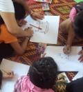 Menores en un centro de víctimas de trata