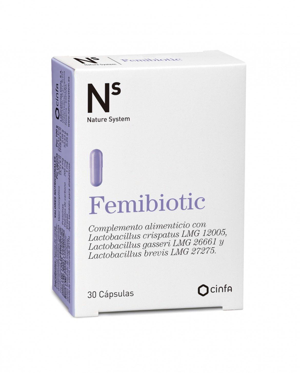 FEMIBIOTIC: para el cuidado de la flora vaginal