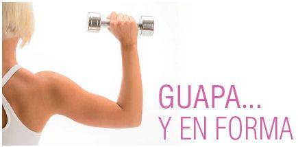 GUAPA… Y en forma