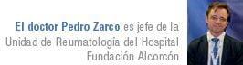 doctor Pedro Zarco, jefe de la Unidad de Reumatología del Hospital Fundación Alcorcón