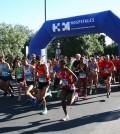 2015 04 27 Los participantes en el inicio de la carrera del año pasado