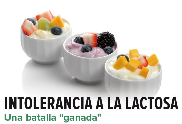 "INTOLERANCIA A LA LACTOSA. UNA BATALLA ""GANADA"""