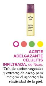 Aceite adelgazante