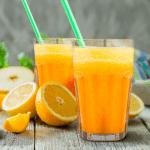 espuma de naranja