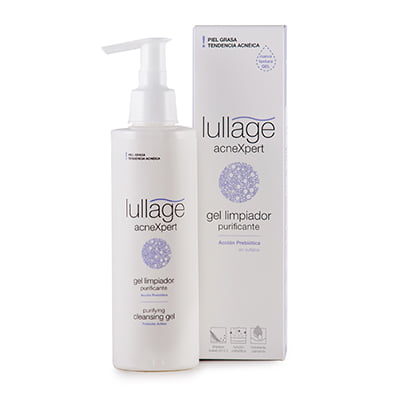 Nuevo gel limpiador purificante de Lullage