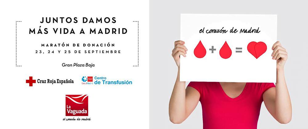 Maratón para donar sangre en Madrid y superar las 400 donaciones