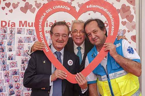 El consejero de Sanidad de la Comunidad de Madrid visita la Semana del Corazón