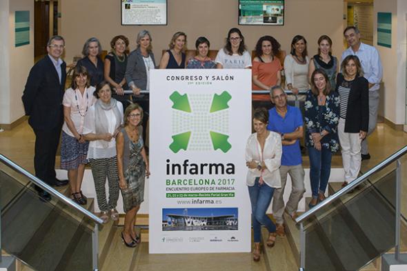 Primera reunión del Comité Científico de Infarma para poner en marcha la 29ª edición
