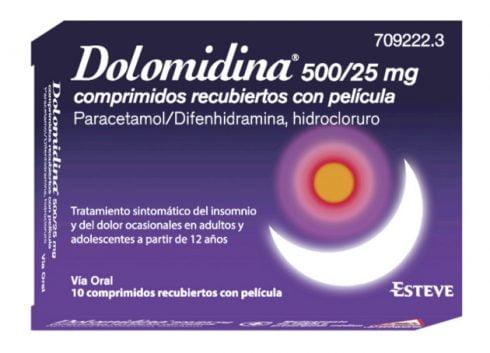 Dolomidina alivia el dolor y ayuda a dormir mejor