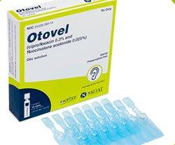 OTOVEL® solución ótica para la otitis media aguda con tubos de timpanostomía (OMAT)