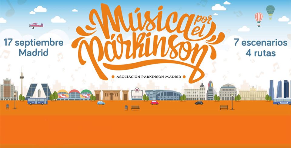 'Música por el Párkinson', cuatro rutas musicales para recaudar fondos