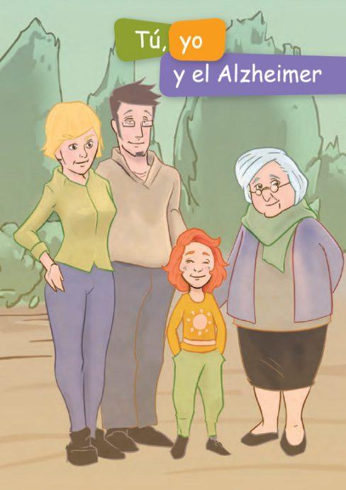Un cómic explica el Alzheimer a los niños