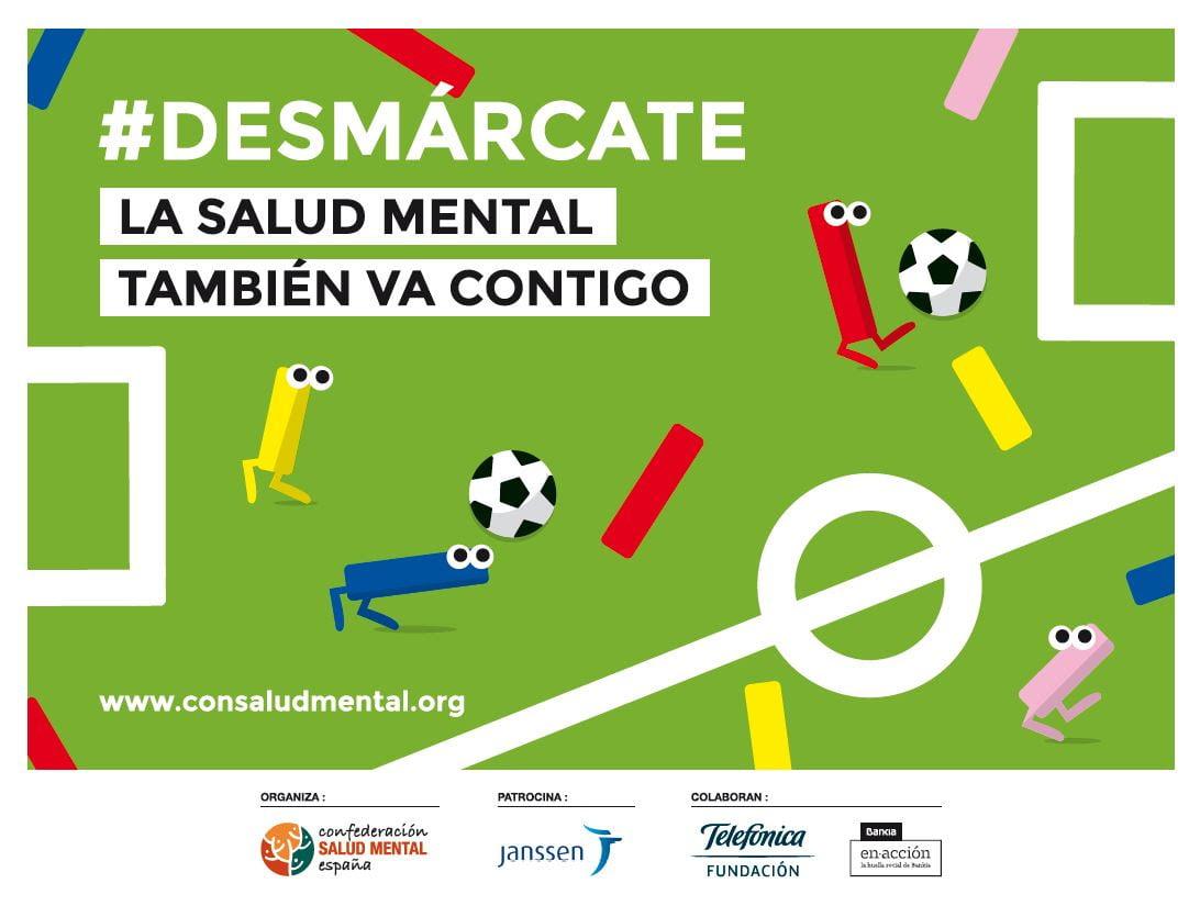 """Este domingo, fútbol para """"desmarcarse"""" por la salud mental"""