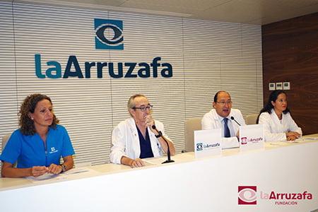 Fundación La Arruzafa presenta su campaña de revisión ocular infantil