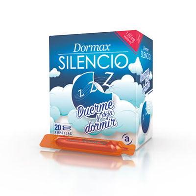 Dormax Silencio combate naturalmente el insomnio y los ronquidos