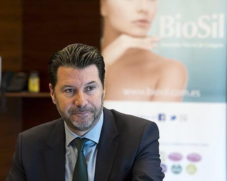 Juan Fernando Chediak, presidente de Panijú, empresa comercializadora de BioSil