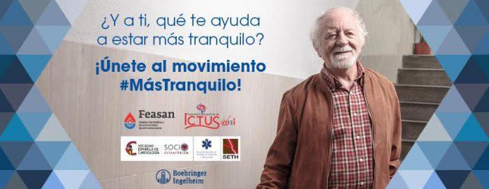 Lanzan la campaña #MásTranquilo a favor de los pacientes anticoagulados