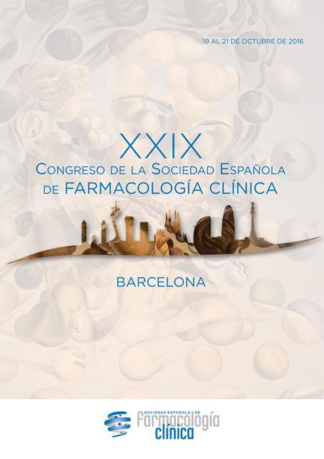 Barcelona acoge el XXIX Congreso de Farmacología Clínica