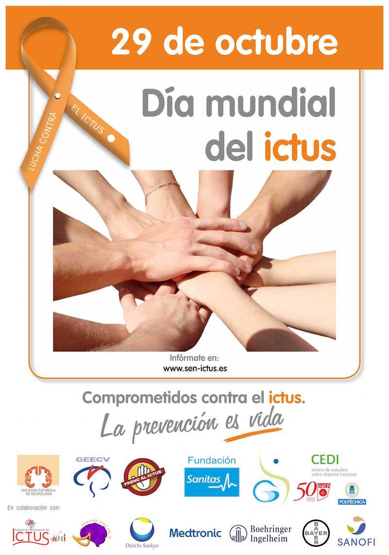 28 y 29 de octubre, actividades con motivo del Día Mundial del Ictus