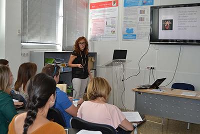 Sesión sobre pediculosis del Colegio de Ciudad Real