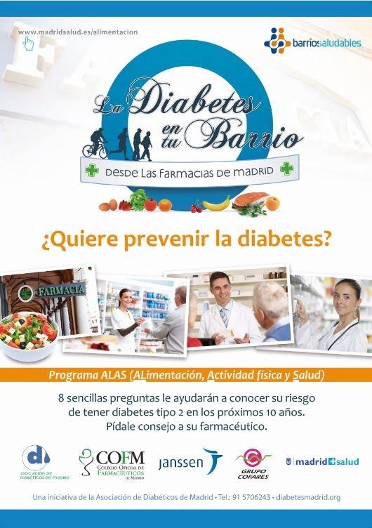 """La campaña """"La diabetes en tu barrio"""" realizará 10.000 cribados en las farmacias de Madrid"""