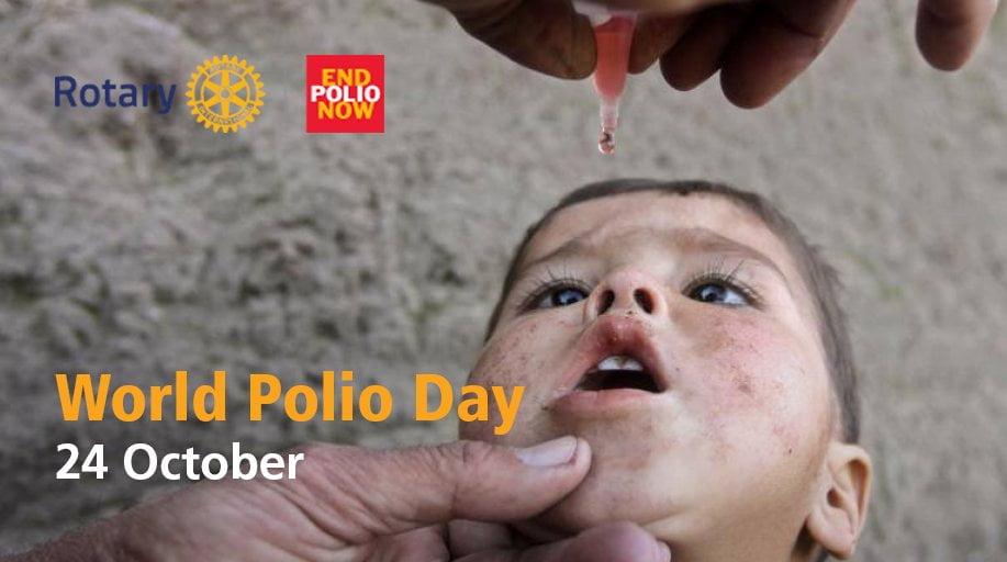 24 de octubre, Día Mundial contra la Polio