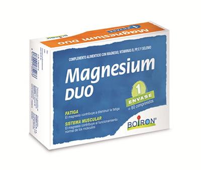 Complemento alimenticio Magnesium Duo, de Boiron